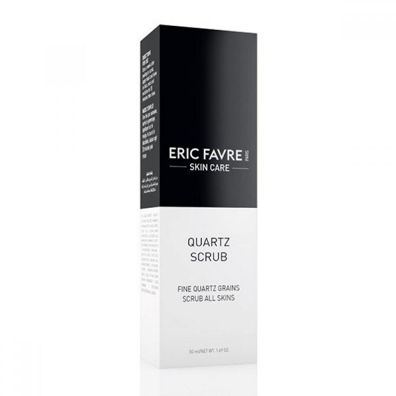 Scrub exfoliant Quartz Eric Favre Skin Care, 50 ml 2021 shopu.ro