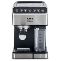Espressor de cafea Zass, 16 bari, 1350 W, rezervor 1.8L, rezervor lapte 0,5L, panou Touch, inox