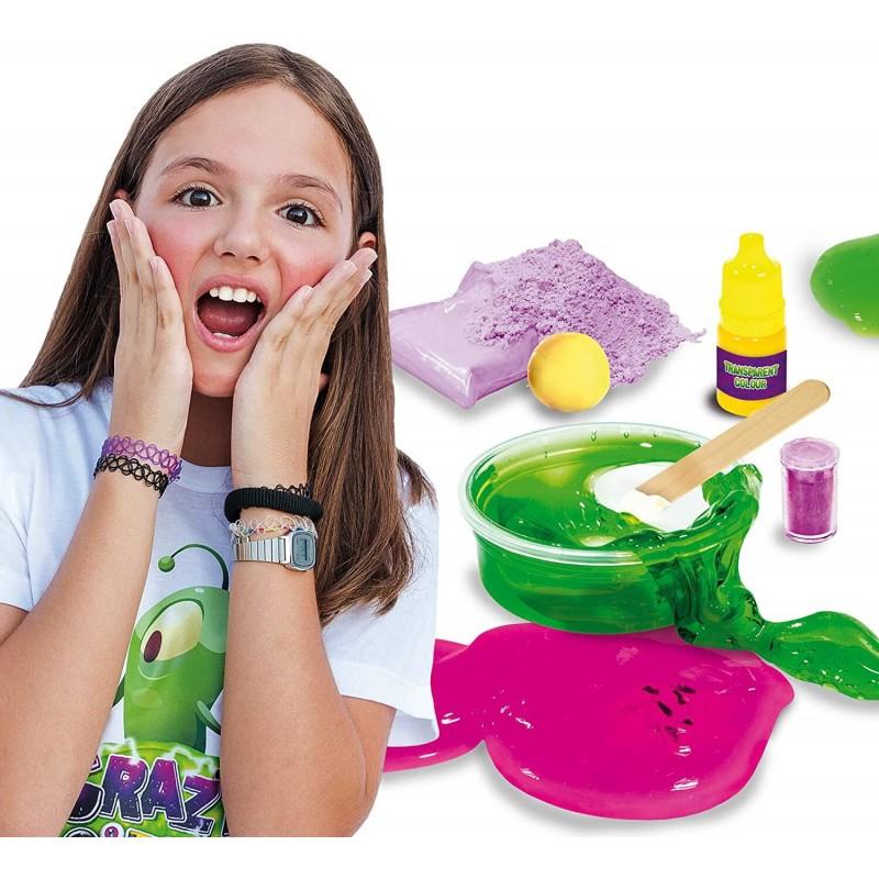 Experimente geniale Lisciani, 8 ani+, Laboratorul de slime