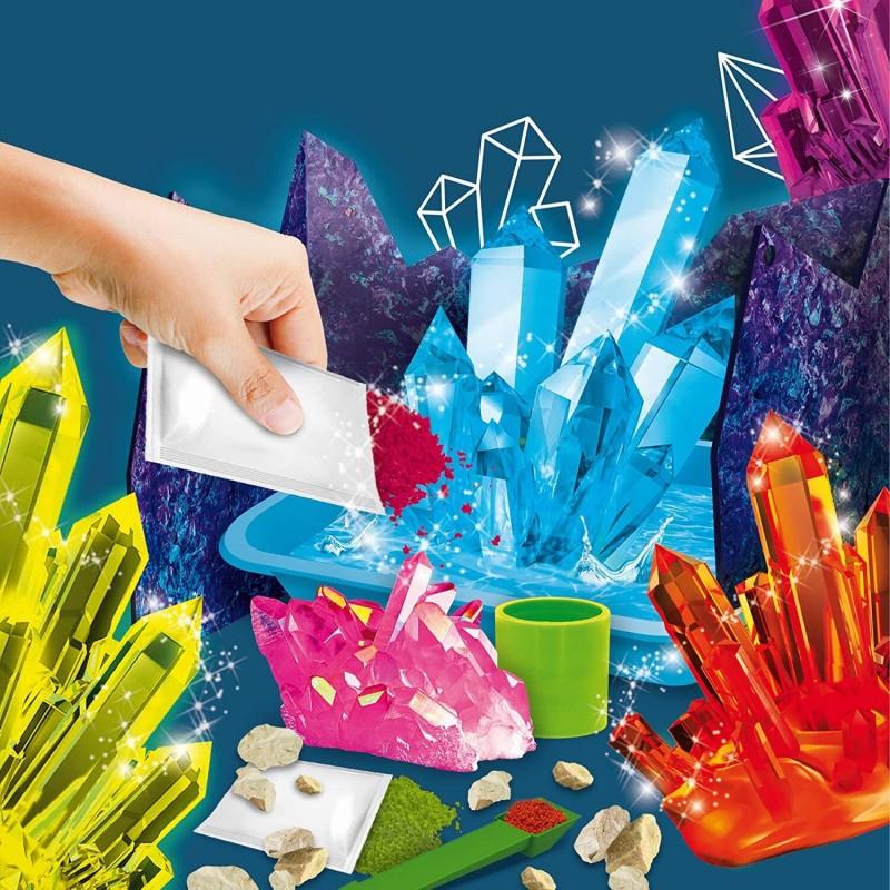 Experimentele micului geniu Lisciani, 8 ani+, Cristale magice 2021 shopu.ro