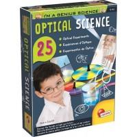 Experimentele micului geniu Secretele opticii Lisciani, 8 ani+, 25 experimente