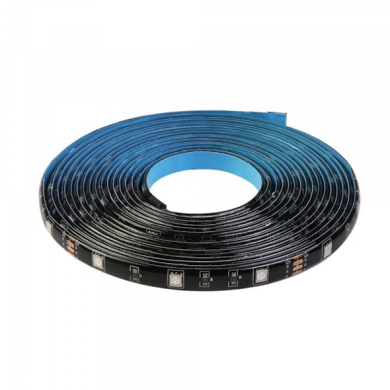 Extensie banda LED Sonoff L1, RGB, 2 m, 300 lm, protectie IP65 2021 shopu.ro