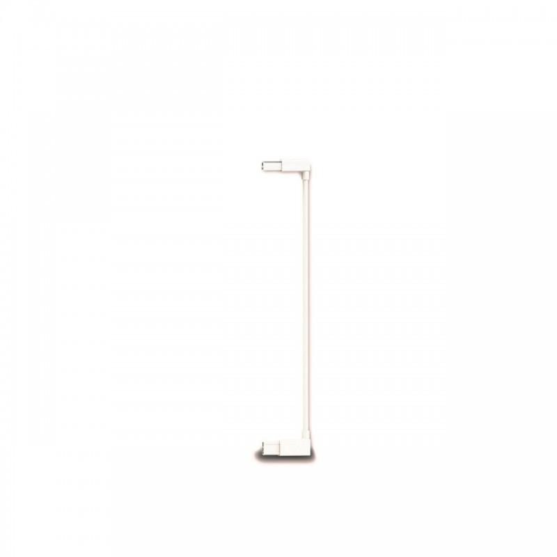 Extensie poarta de siguranta Noma, metal alb, 7 cm 2021 shopu.ro