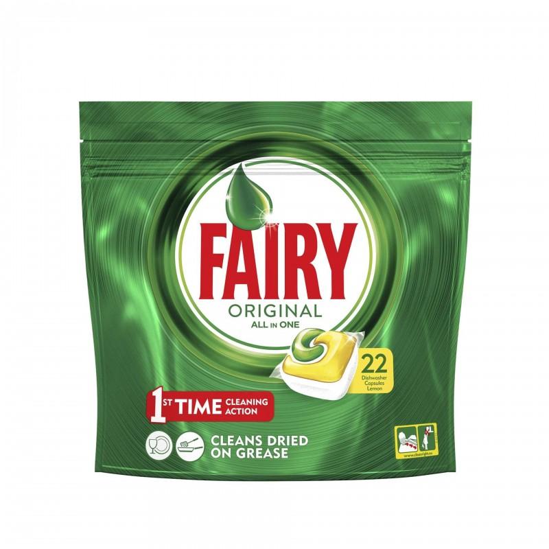 Detergent masina de spalat vase Fairy All In 1, 22 x capsule 2021 shopu.ro