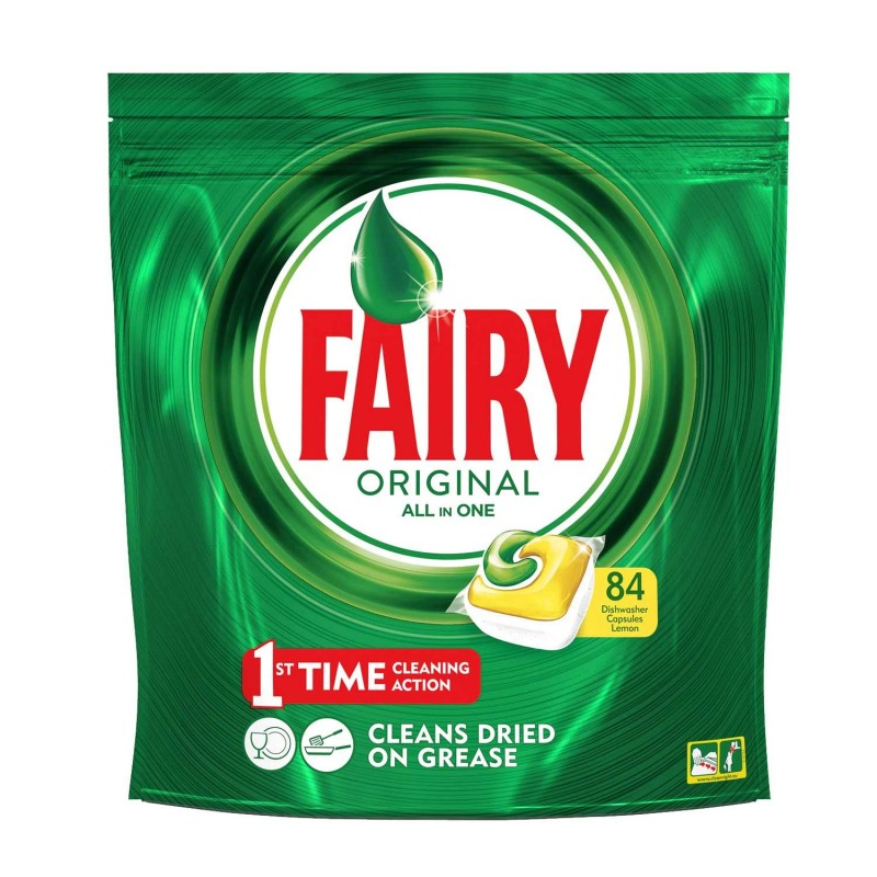 Detergent masina de spalat vase Fairy All In 1, 84 x capsule shopu.ro