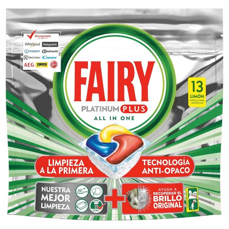 Detergent masina de spalat vase Fairy Platinum Plus All in One, 13 x capsule shopu.ro