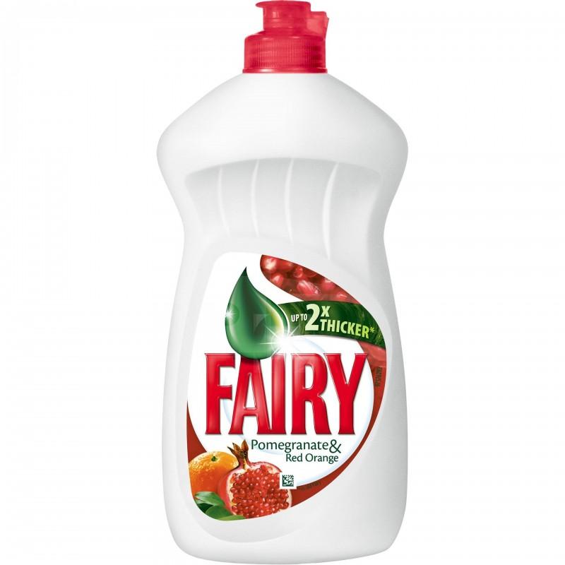 Detergent de vase Fairy Rodii si Portocale rosii, 450 ml shopu.ro