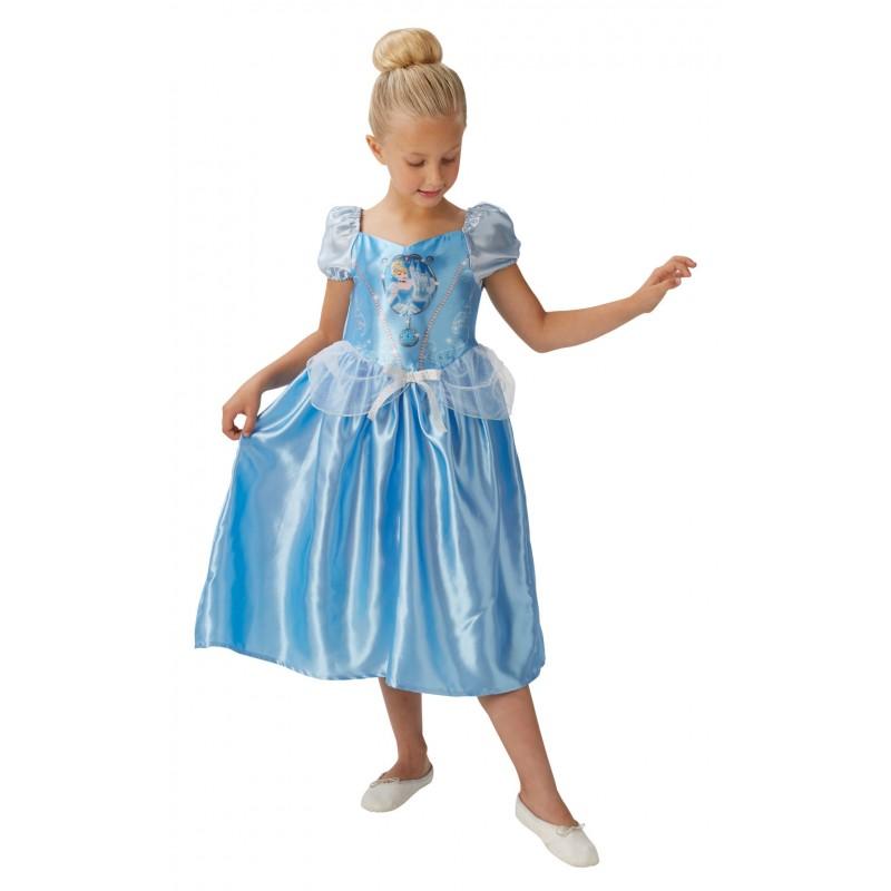 Costum fetite Fairytale Cinderella, marime M, 5-6 ani 2021 shopu.ro