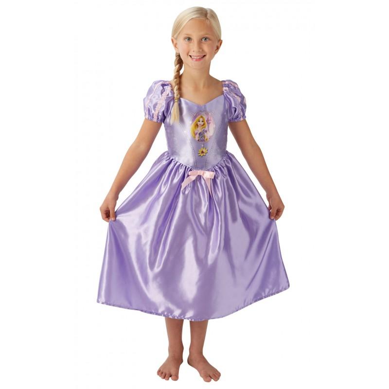 Costum fetite Fairytale Rapunzel, marime M, 5-6 ani 2021 shopu.ro