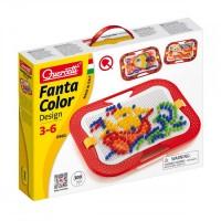 Fantacolor design Quercetti, 300 piese, 3 ani+
