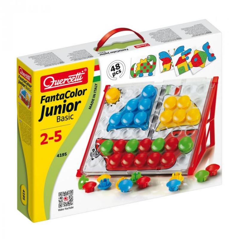 Puzzle Fantacolor Junior Basic Quercetti, 48 piese, 2 ani+
