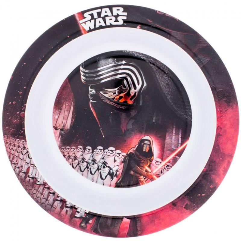 Farfurie adanca melamina Star Wars Lulabi, diametru 21 cm 2021 shopu.ro