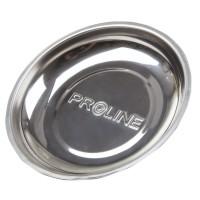 Farfurie magnetica rotunda Proline, diametru 150 mm, Argintiu