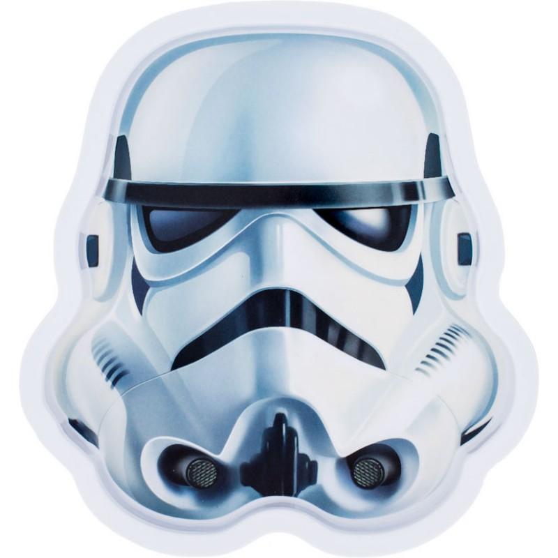 Farfurie melamina Star Wars Stormtrooper Lulabi 2021 shopu.ro