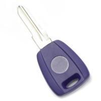 Carcasa cheie Fiat Carguard, tip transponder, Albastru