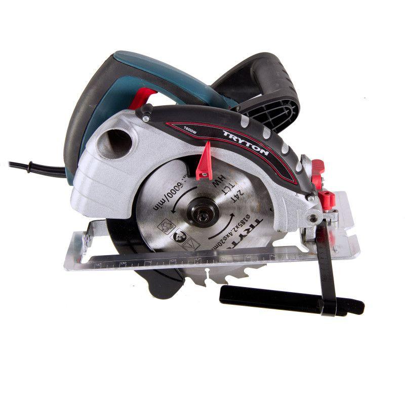 Ferastrau circular manual, rigla de ghidare, disc 185 mm, 5000 rot/min, 1600 W