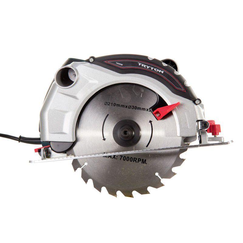 Fierastrau circular manual Tryton, 210 mm, 1800 W