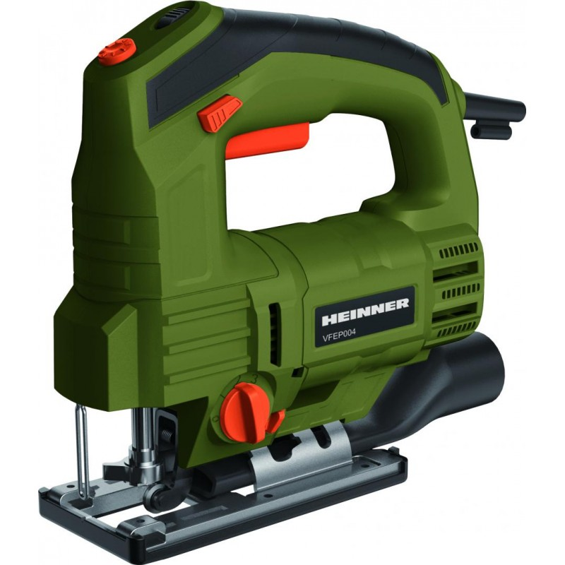 Fierastrau vertical Heinner, 800 W, 3000 RPM, 230 V, 100 mm, Motor cupru, fier, lemn, Multicolor shopu.ro