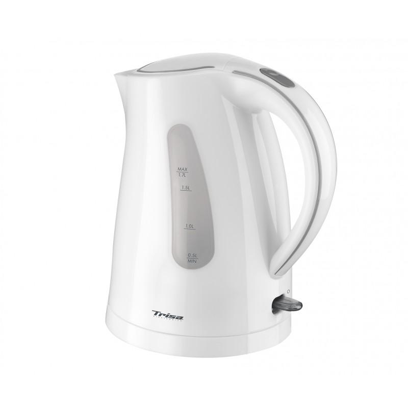 Fierbator Trisa Comfort boil, 2200 W, capacitate 1.7 L, Alb