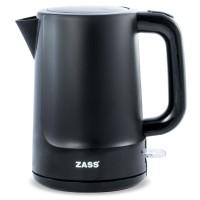 Fierbator Zass Back Line, 2200 W, 1.7 L, baza rotativa, sistem oprire automat/manual, indicator nivel apa