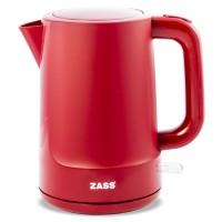 Fierbator Zass Red Line, 2200 W, 1.7 L, baza rotativa, sistem oprire automat/manual, indicator nivel apa