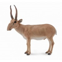 Figurina Antilopa Saiga L Collecta, 8.8 x 8.6 cm