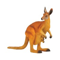 Figurina Cangurul Rosu, 12.5 x 4.7 cm, 3 ani +