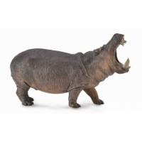 Figurina hipopotam Collecta, plastic cauciucat, 3 ani+