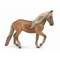 Figurina Peruvian Paso Mare Chestnut XL Collecta, 16  x 11 cm