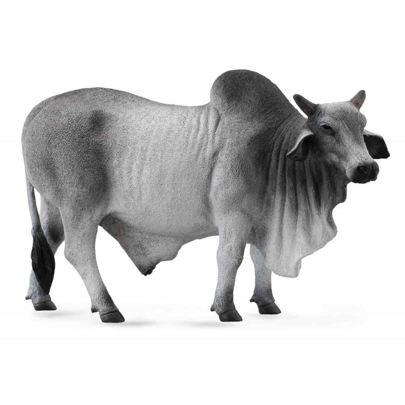 Figurina Taur Brahman L Collecta, 13.5 x 8.5 cm 2021 shopu.ro