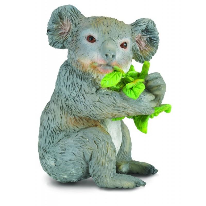 Figurina Urs Koala mancand M Collecta, 4.6 x 3.7 cm 2021 shopu.ro
