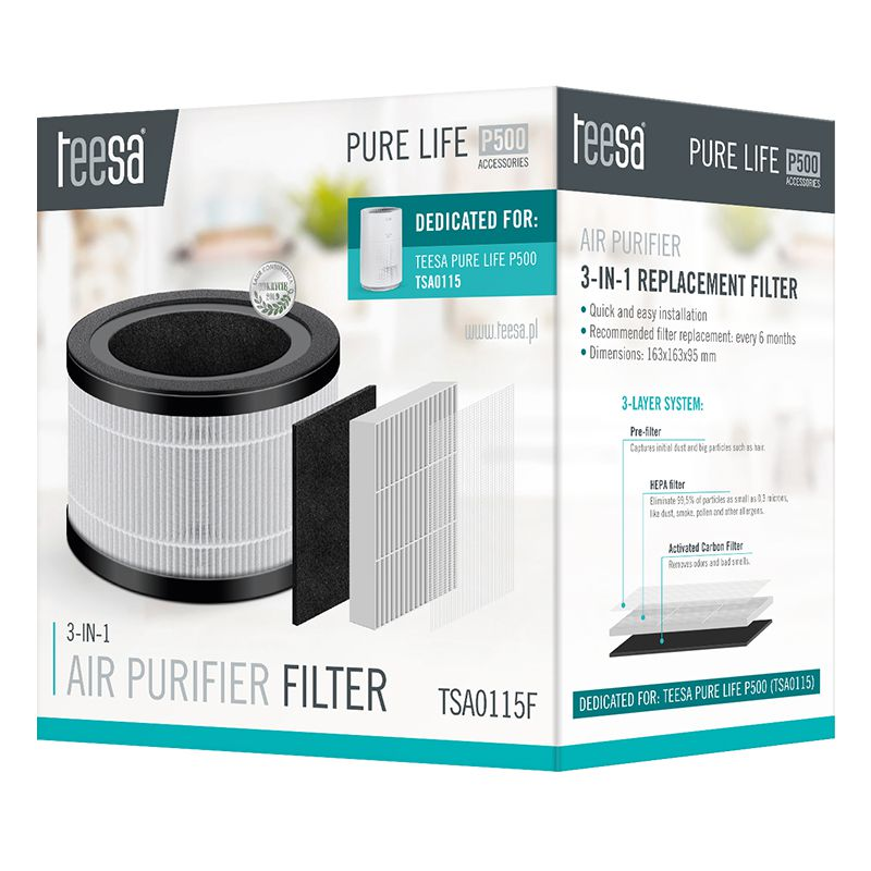 Filtru purificator aer Pure Life P500 Teesa