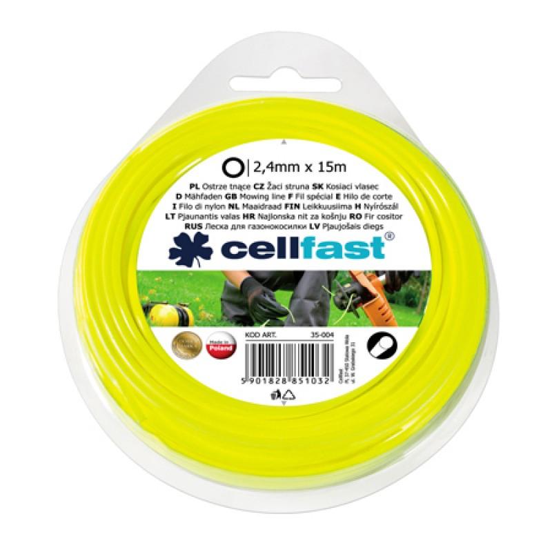 Fir motocoasa Cellfast, diametru 2.4 mm, lungime 15 m shopu.ro