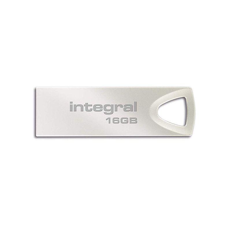 Memorie Flash Drive Integral, 16 GB, USB 2.0 2021 shopu.ro
