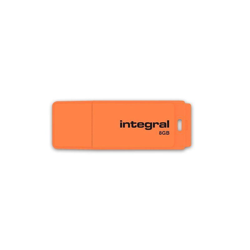 Memorie Flash Drive Integral, 8 GB, USB, model Neon 2021 shopu.ro