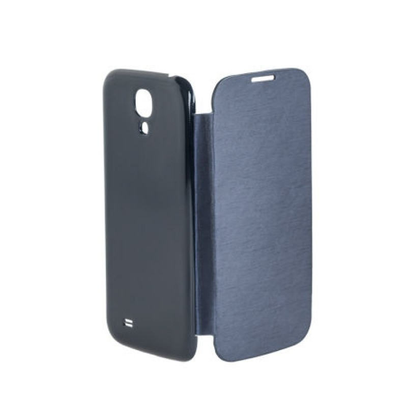 Husa tip flip book pentru telefon Samsung Galaxy S4 M-Life, Albastru 2021 shopu.ro
