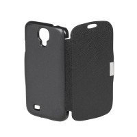 Husa Flip Cover telefon Samsung Galaxy S4, Negru