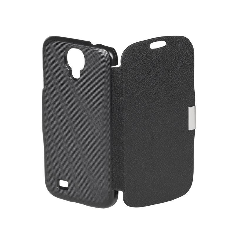 Husa Flip Cover telefon Samsung Galaxy S4, Negru 2021 shopu.ro