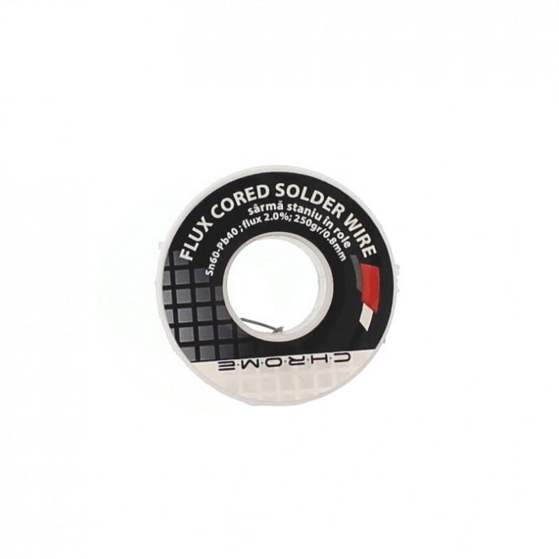 Fludor Chrome, 250 gr, diametru 0.8 mm shopu.ro