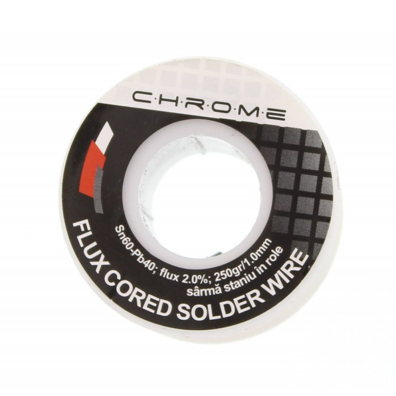 Fludor Chrome, 250 gr, diametru 1 mm shopu.ro