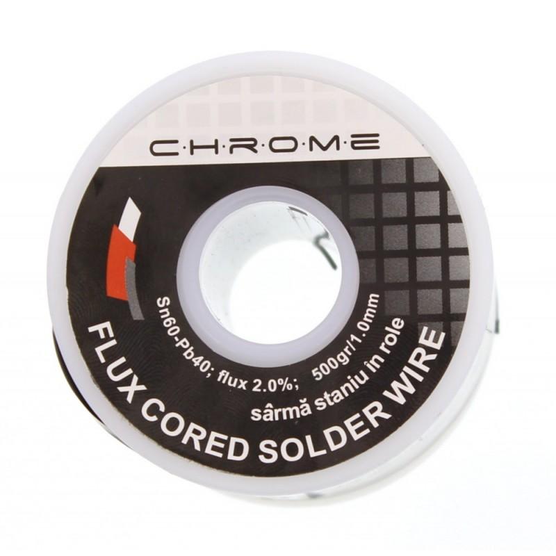 Fludor Chrome, 500 gr, diametru 1 mm shopu.ro