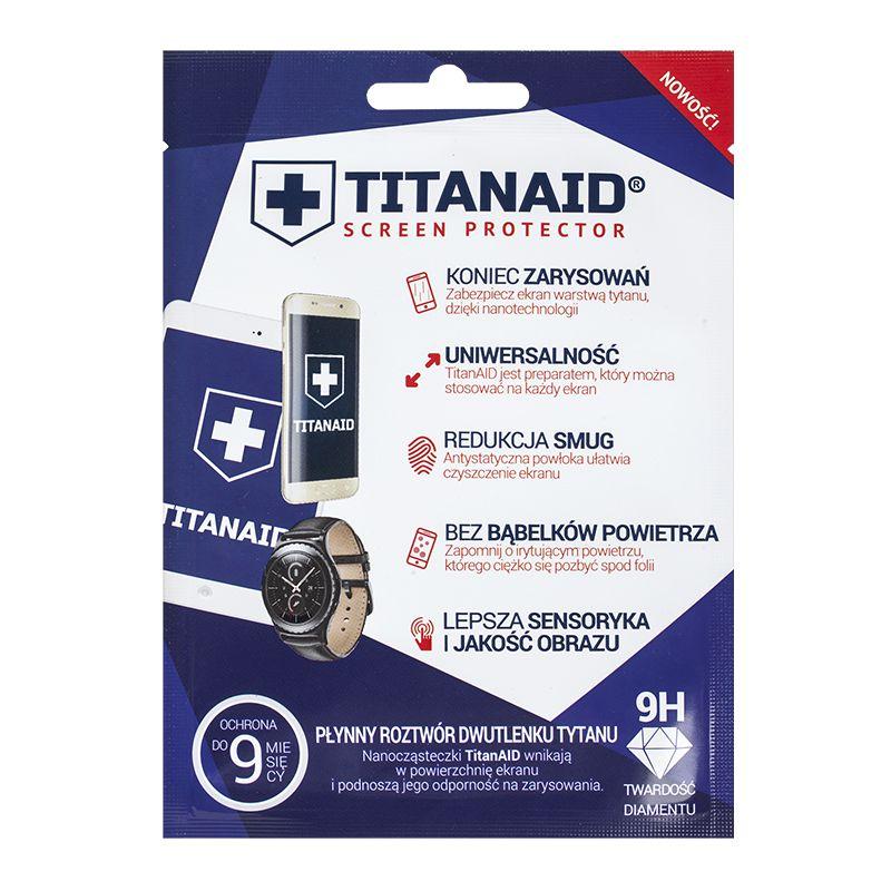 Folie de protectie Titanaid tip gel, pentru telefoane, universala 2021 shopu.ro