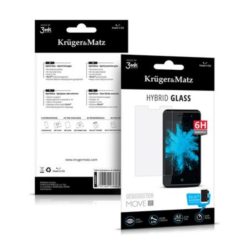Folie sticla pentru telefon Kruger & Matz Move 8, duritate 6 H 2021 shopu.ro