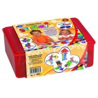 Forme pentru construit Feuchtmann Box Maxi, 290 piese, viu colorate, 3 ani+