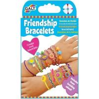 Set bratarile prieteniei pentru copii Galt, fire colorate, margele si panglica