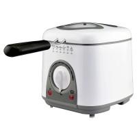 Friteuza Pem, 900 W, 1 l, 6 fondue, LED, timer, panou mecanic
