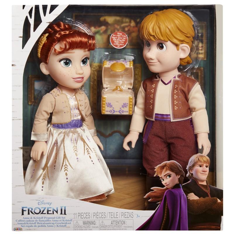 Set 2 papusi Anna si Kristoff Frozen II, 35/38 cm, 3 ani+ 2021 shopu.ro