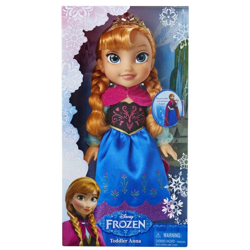Papusa Frozen Toddler Anna, 20 x 12 cm, 3 ani+