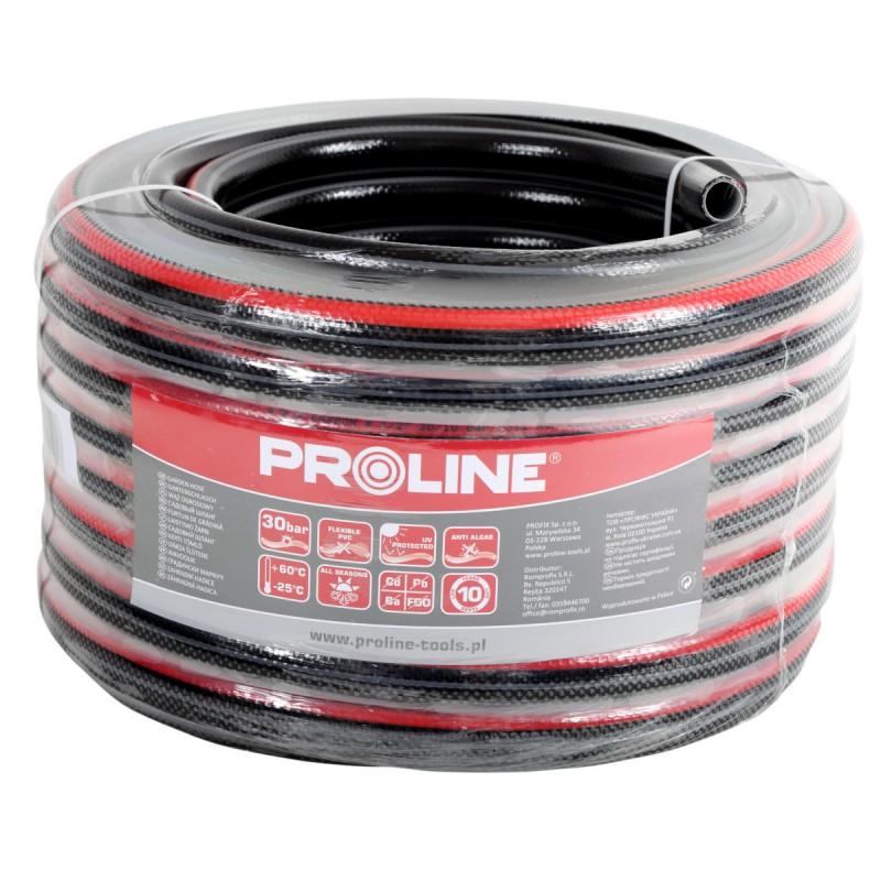 Furtun de apa Proline Premium, 4 straturi, 1 inch, lungime 20 m 2021 shopu.ro