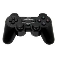 Gamepad PC cu vibratii EG102 Esperanza, conectare USB, 12 butoane, 2 joystick-uri analogice